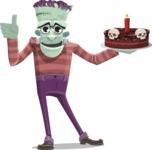 Pants Ken Stein - Holding Cake