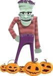 Pants Ken Stein - Pumpkin 3