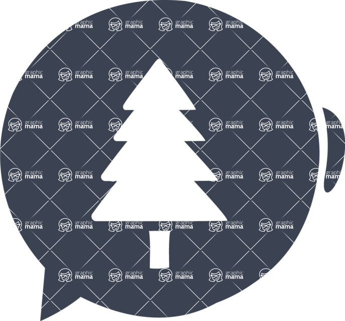 800+ Multi Style Icons Bundle - Free tree icon 6