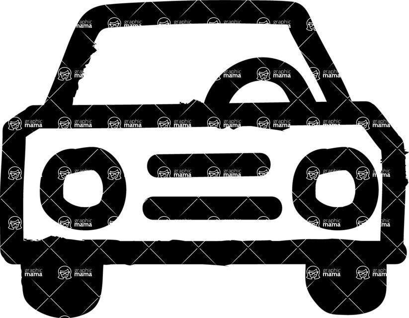 800+ Multi Style Icons Bundle - Free car icon 1