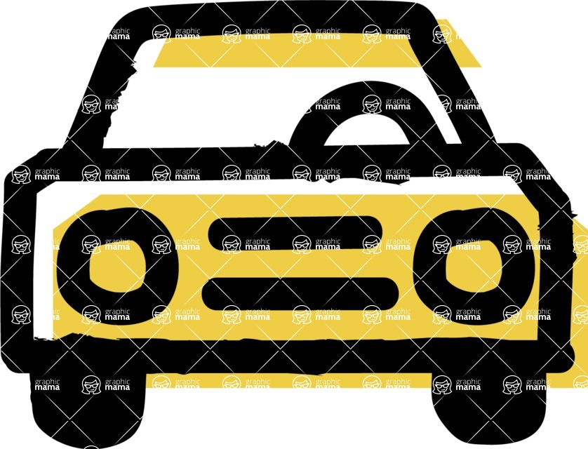 800+ Multi Style Icons Bundle - Free car icon 2