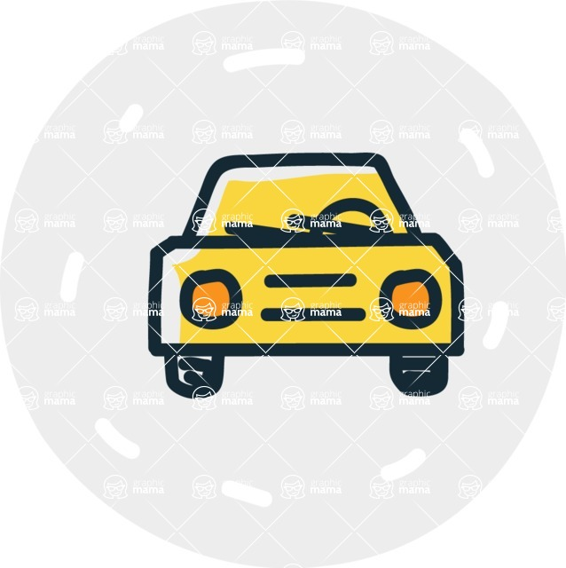 800+ Multi Style Icons Bundle - Free car icon 7