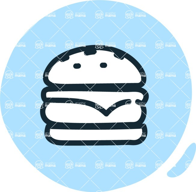 800+ Multi Style Icons Bundle - Free food icon - burger 3