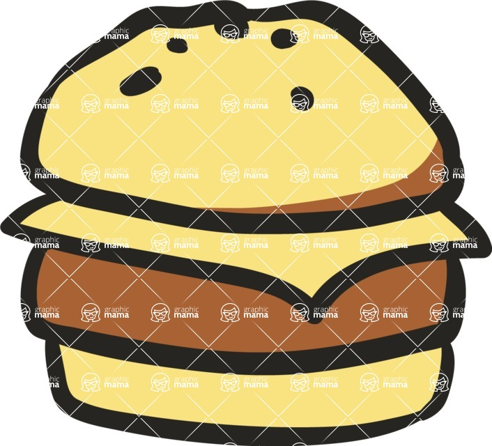 800+ Multi Style Icons Bundle - Free food icon - burger 5