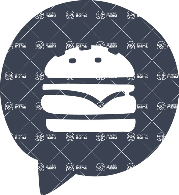 800+ Multi Style Icons Bundle - Free food icon - burger 6