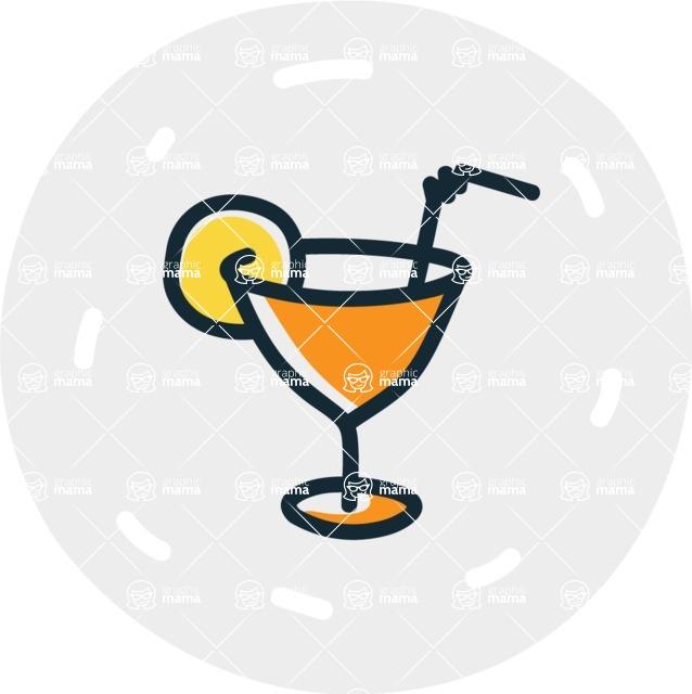 800+ Multi Style Icons Bundle - Free drinks icon 7