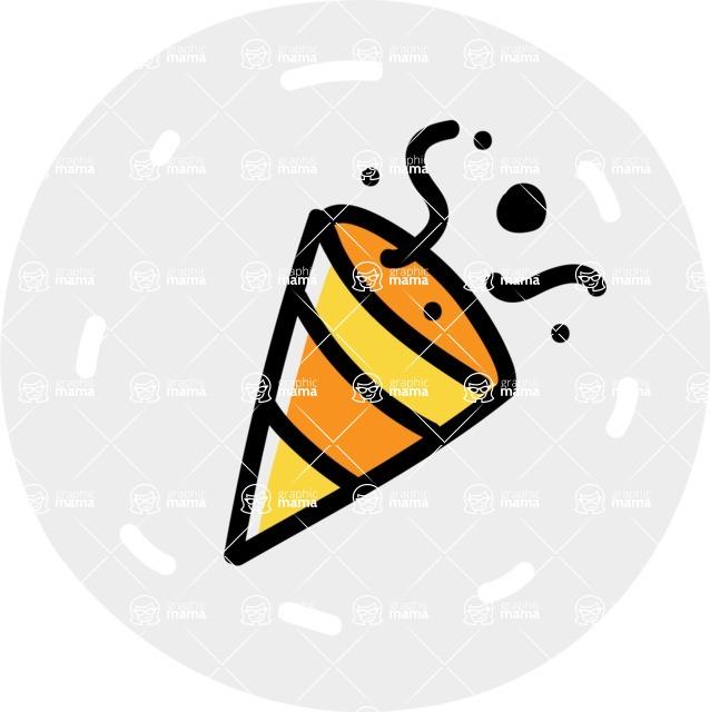 800+ Multi Style Icons Bundle - Free party icon 7