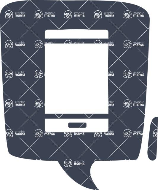 800+ Multi Style Icons Bundle - Free phone icon 6
