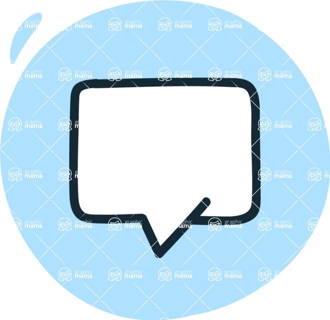 800+ Multi Style Icons Bundle - Free message icon 3