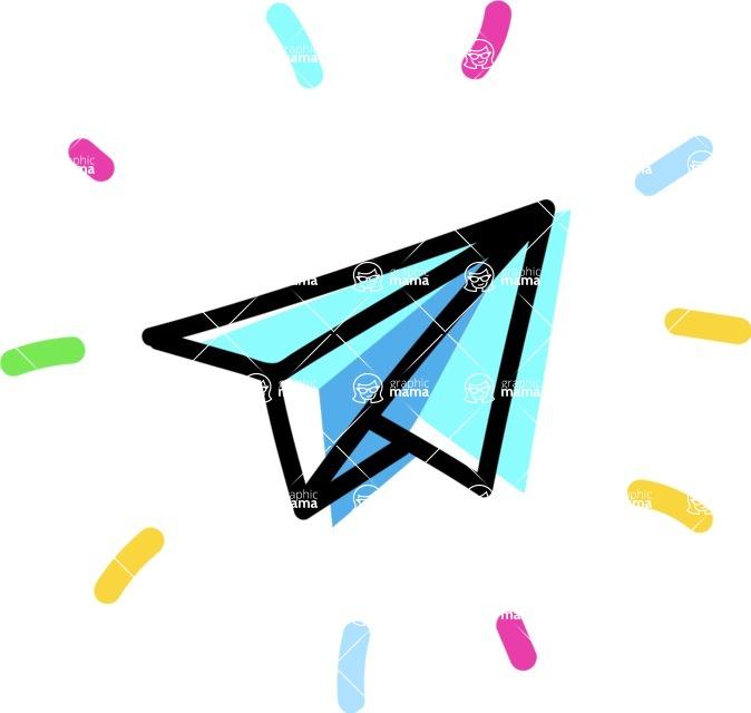 800+ Multi Style Icons Bundle - Free send icon 4
