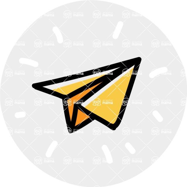 800+ Multi Style Icons Bundle - Free send icon 7