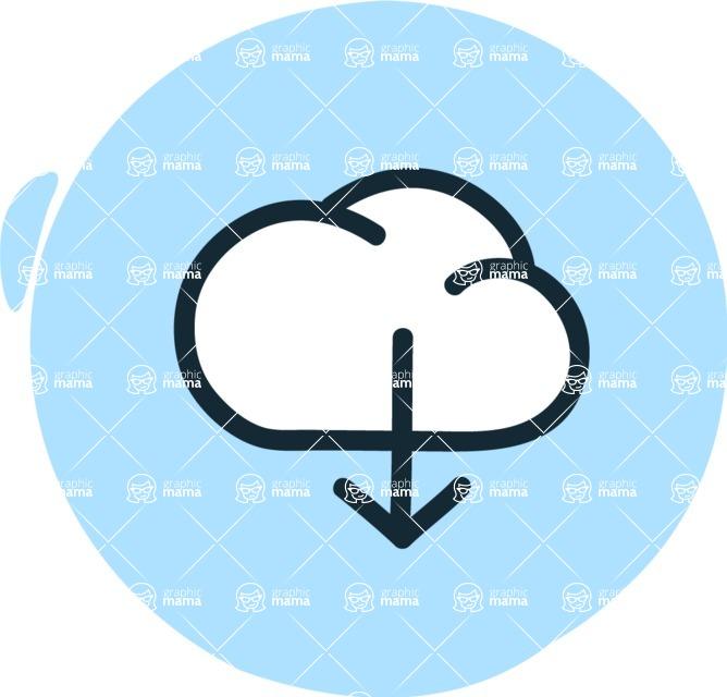 800+ Multi Style Icons Bundle - Free download icon 3