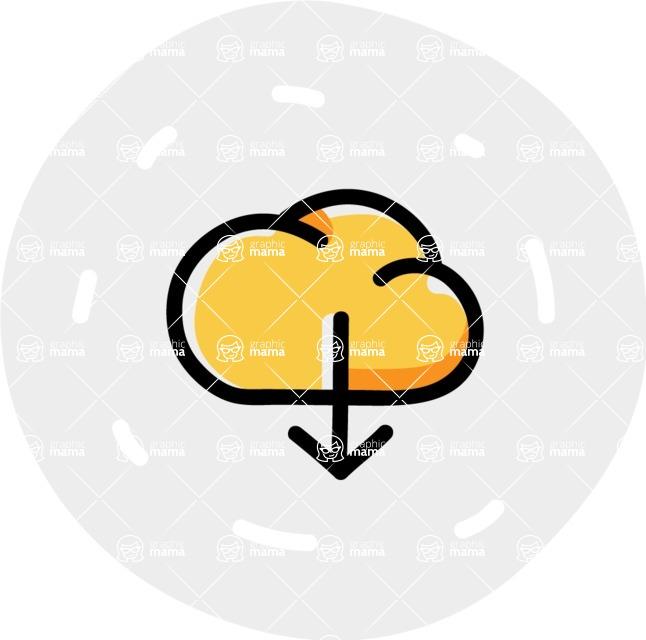 800+ Multi Style Icons Bundle - Free download icon 7