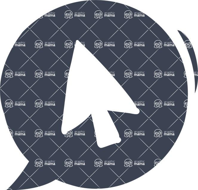 800+ Multi Style Icons Bundle - Free cursor icon 6