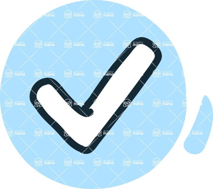 800+ Multi Style Icons Bundle - Free check icon 3