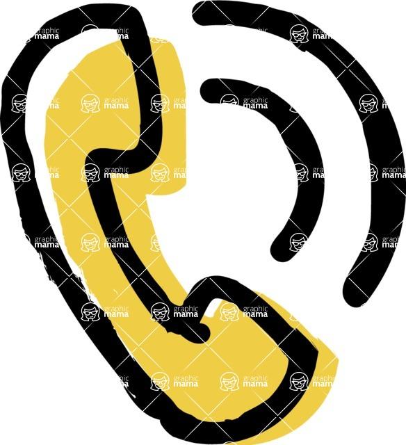 800+ Multi Style Icons Bundle - Free call icon 2