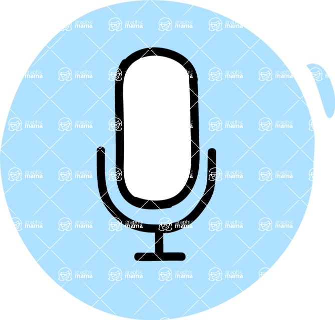 800+ Multi Style Icons Bundle - Free microphone icon 3
