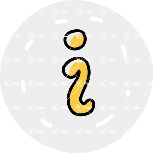 800+ Multi Style Icons Bundle - Free info icon 7