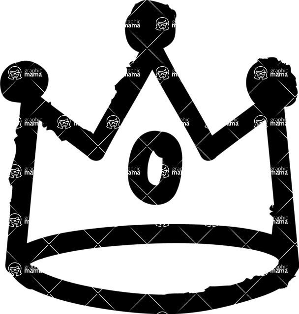 800+ Multi Style Icons Bundle - Free crown icon 1