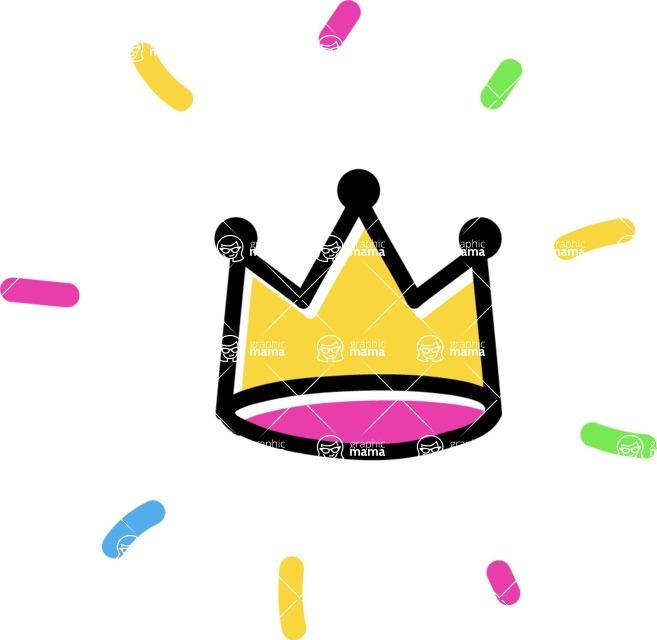 800+ Multi Style Icons Bundle - Free crown icon 4