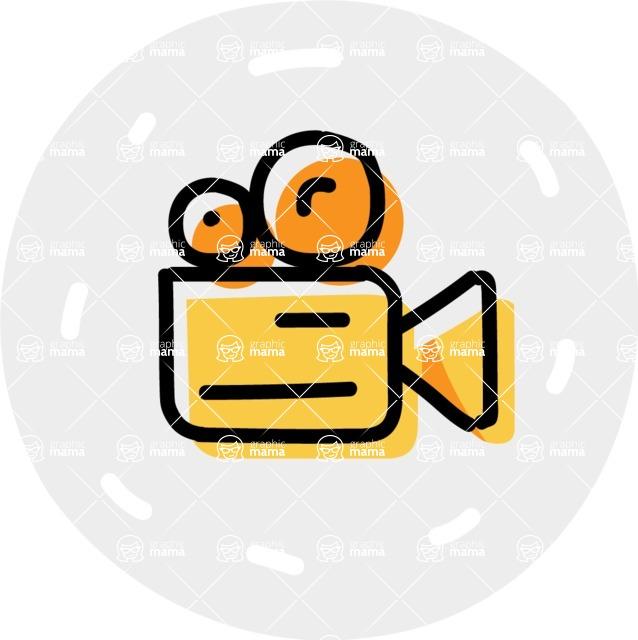 800+ Multi Style Icons Bundle - Free camera icon 7