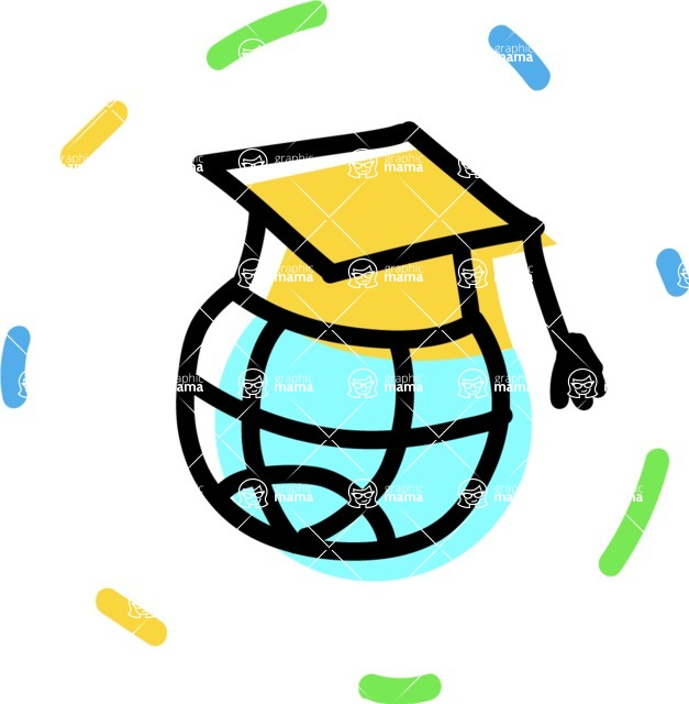 800+ Multi Style Icons Bundle - Free online education icon 4