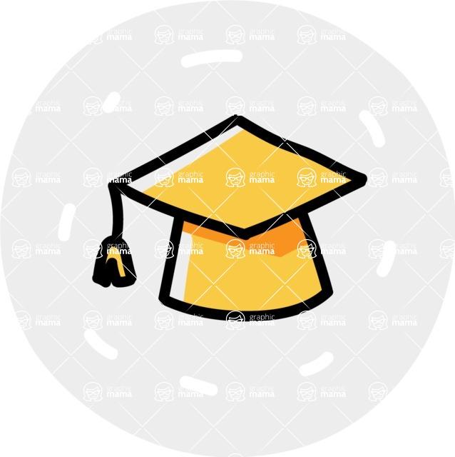 800+ Multi Style Icons Bundle - Free education icon 7
