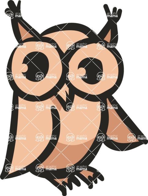 800+ Multi Style Icons Bundle - Free owl icon 5