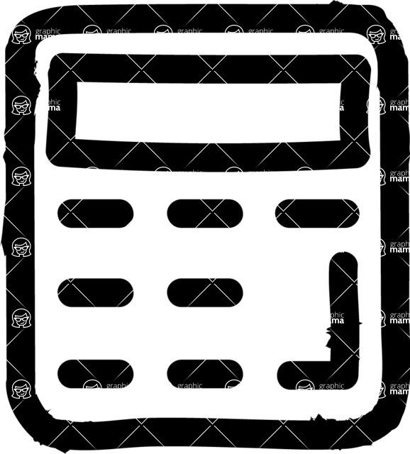 800+ Multi Style Icons Bundle - Free calculator icon 1