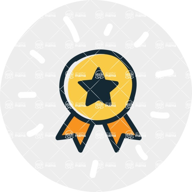 800+ Multi Style Icons Bundle - Free medal and rank icon 7
