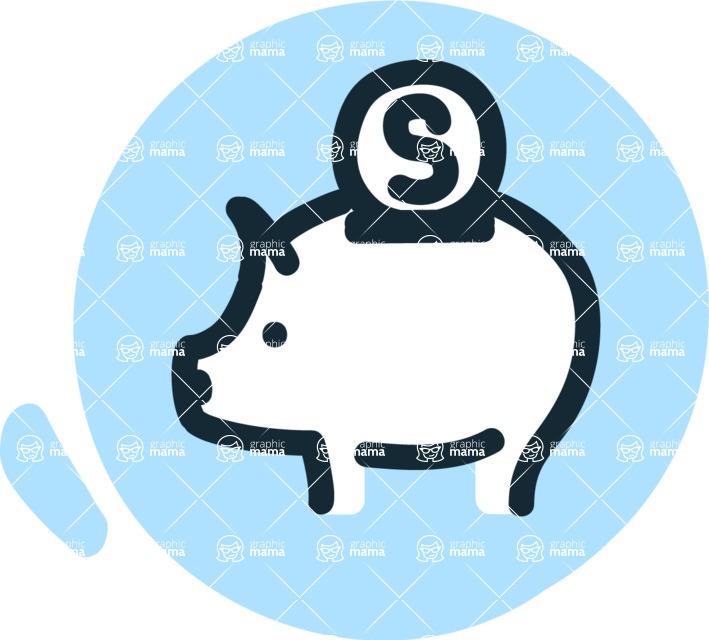 800+ Multi Style Icons Bundle - Free savings icon 3