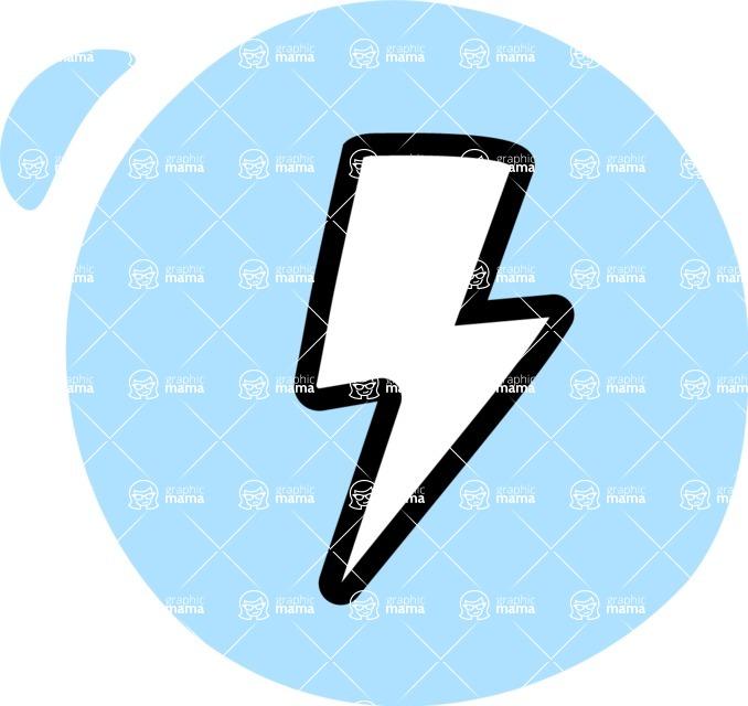 800+ Multi Style Icons Bundle - Free flash icon 3