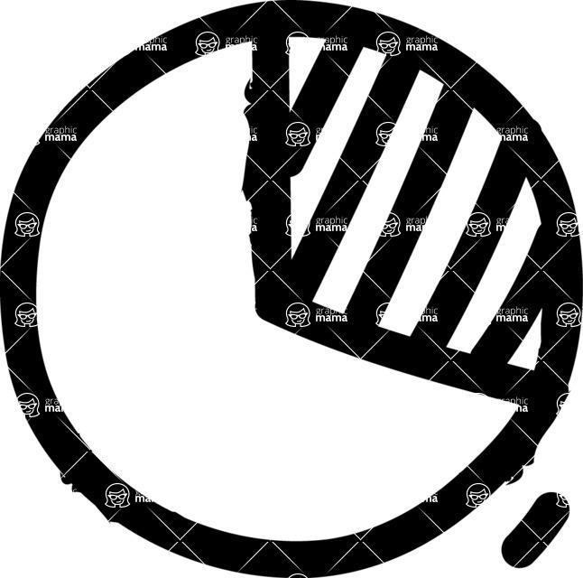800+ Multi Style Icons Bundle - Free pie chart icon 1