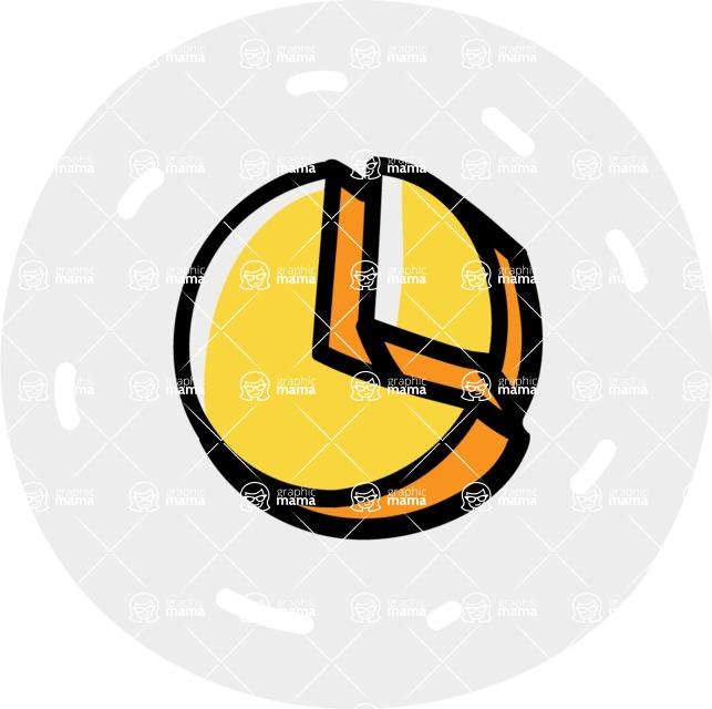 800+ Multi Style Icons Bundle - Free pie chart icon 7