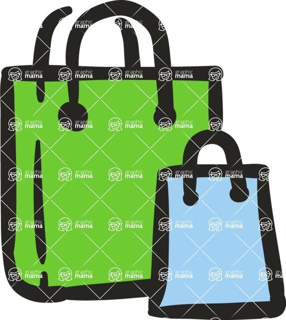 800+ Multi Style Icons Bundle - Free shopping bag icon 5