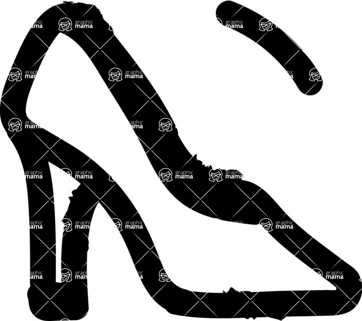 800+ Multi Style Icons Bundle - Free shoe fashion icon 1