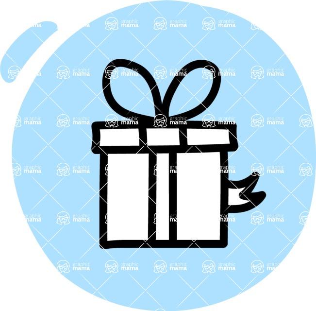 800+ Multi Style Icons Bundle - Free gift icon 3