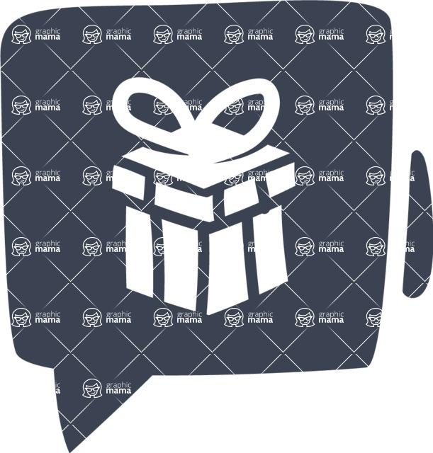 800+ Multi Style Icons Bundle - Free gift icon 6
