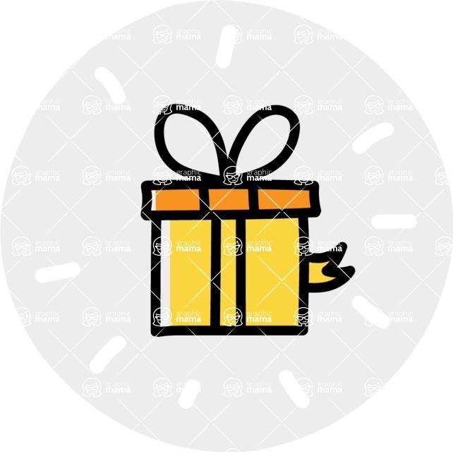 800+ Multi Style Icons Bundle - Free gift icon 7