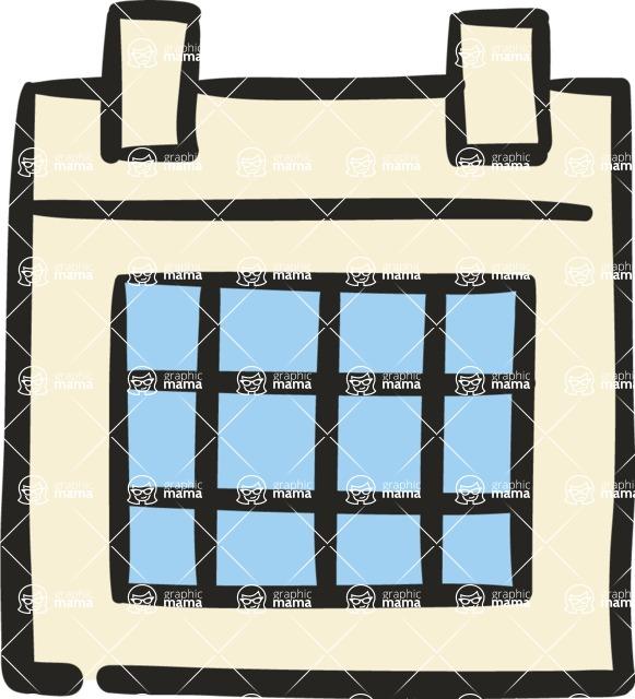 800+ Multi Style Icons Bundle - Free calendar icon 5