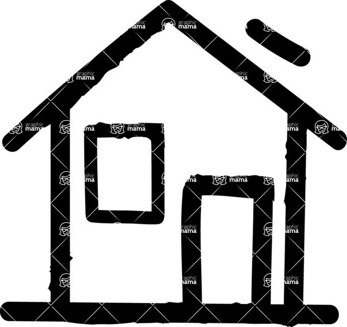 800+ Multi Style Icons Bundle - Free home icon 1