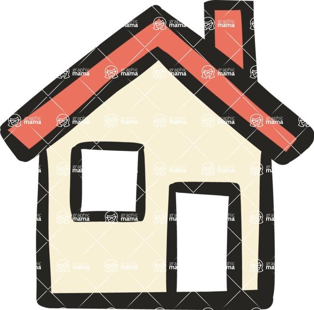 800+ Multi Style Icons Bundle - Free home icon 5
