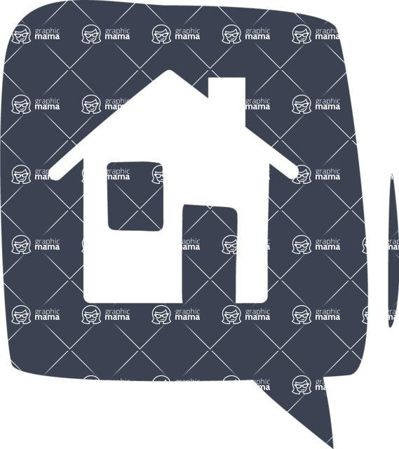800+ Multi Style Icons Bundle - Free home icon 6