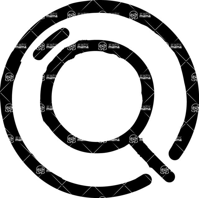 800+ Multi Style Icons Bundle - Free search icon 1