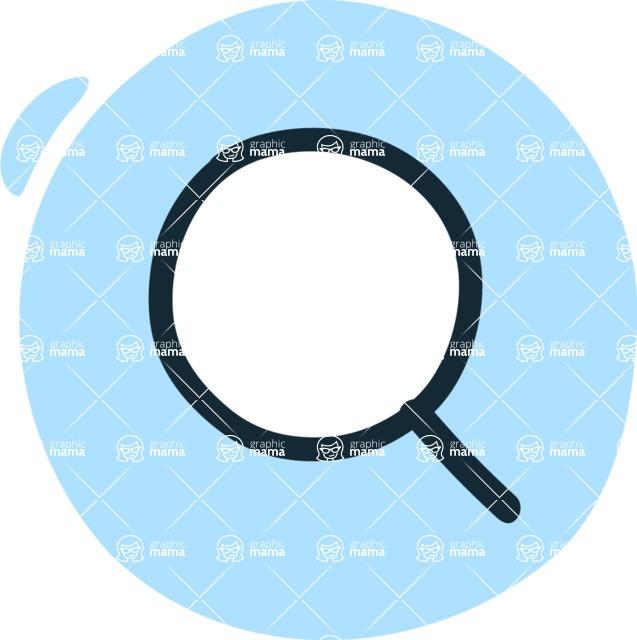 800+ Multi Style Icons Bundle - Free search icon 3