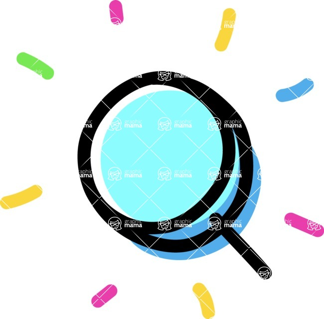 800+ Multi Style Icons Bundle - Free search icon 4