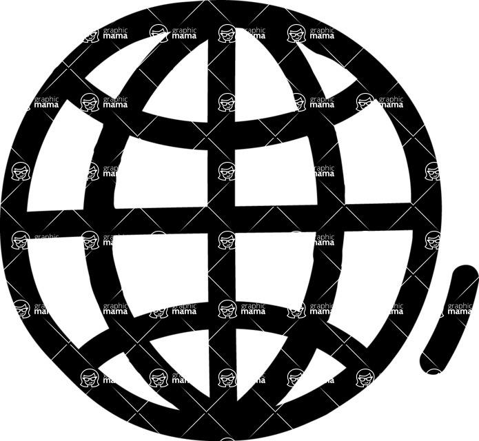800+ Multi Style Icons Bundle - Free worldwide web icon 1