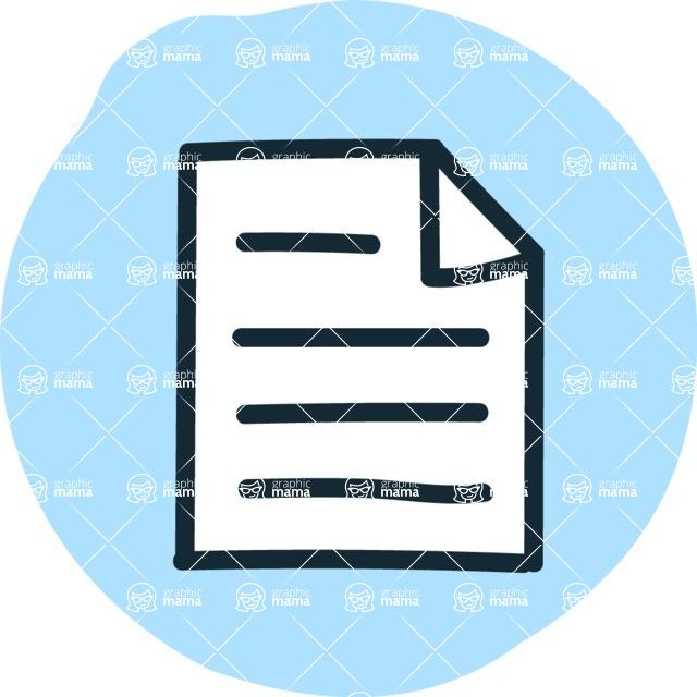 800+ Multi Style Icons Bundle - Free paper icon 3