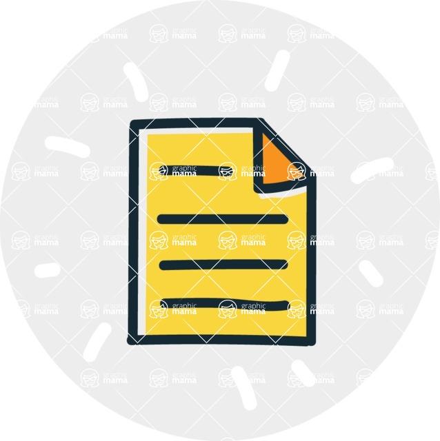 800+ Multi Style Icons Bundle - Free paper icon 7