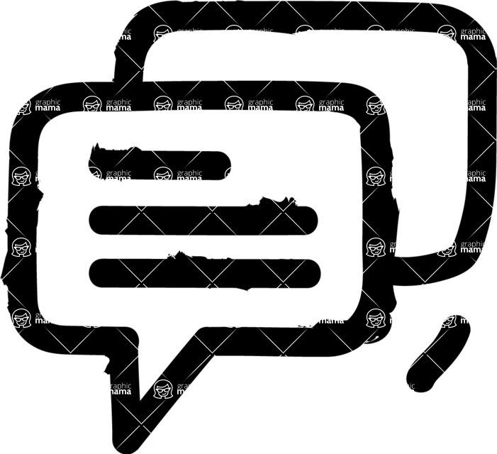 800+ Multi Style Icons Bundle - Free communication icon 1